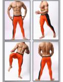 Леггинсы мужские BRAVE PERSON Orange лот 1001
