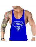 Модная майка Superman Blue лот 392