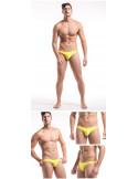 Мужские стринги пляжные  Desmiit String Yellow лот 2235