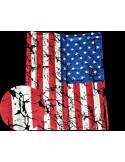 Спортивные майки USA Black лот 383