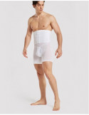 Бандаж мужской корректирующий бока живот талию White 7007