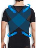 Утягивающая футболка мужская Black 7010