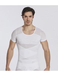 Корректирующая футболка мужская White 7011