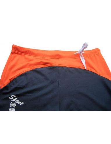 Мужские спортивные шорты AQUX Navy\Orange лот 239
