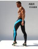 Лосины мужские для спорта AQUX SPORT PINK Light Blue лот 1018