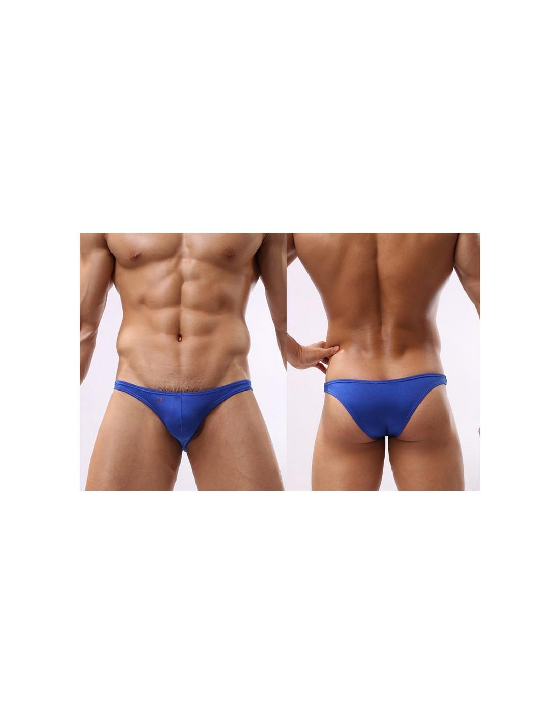 c4446a82365fa Мужские трусы бразилиана Joe Snyder Blue лот 756 | Coolman