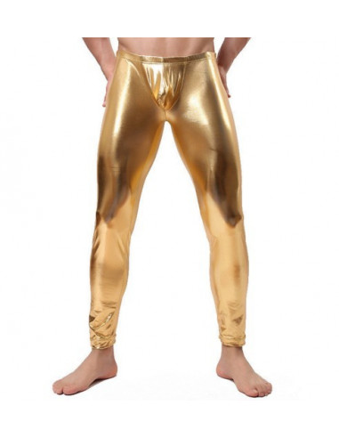 Лосины мужские Latex Style Gold лот 851
