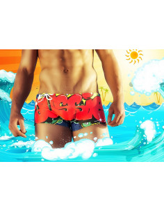 Яркие плавки Aussiebum Fraffiti Bronx  2220
