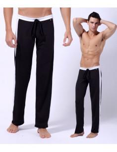 Мужские штаны спортивные WangJiang Black лот 1039