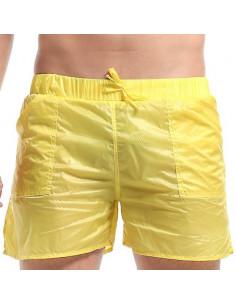 Стильные мужские шорты Desmiit Wave Yellow  324