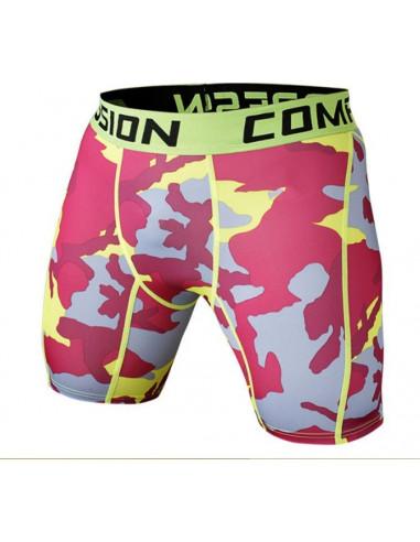 Шорты спортивные камуфляжные Vansydical Pink Camo лот 327
