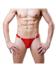 Стринги мужские красные Shino Red 2047