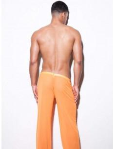 Штаны мужские прозрачные в сетку SHINO Orange  822