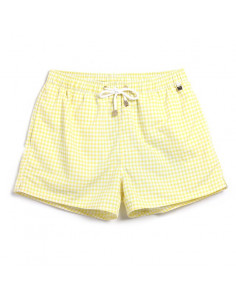 Пляжные шорты цвета лимон Gailang Beach Lime  3320