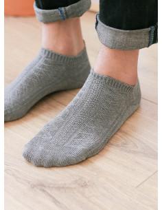 Носки в этно стиле короткие Gray  BR017