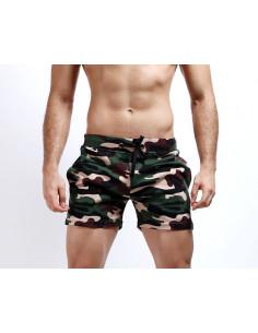 Шорты камуфляжные Seobean Camouflage Green лот 3340