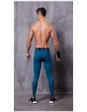 Лосины для спорта мужские EVS 3D Blue лот 1053