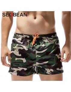 Стильные камуфляжные шорты Seobean Camo лот 3344