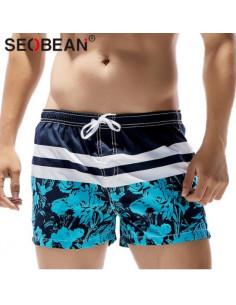 Стильные пляжные шорты Seobean  3348