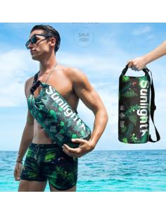 Сумка водонепроницаемая пляжная Sunline Green лот SH009