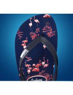 Стильные мужские шлепки Gailang Pink Flamingo лот SH007