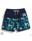 Модные мужские шорты Gailang Flowers Navy лот 3350