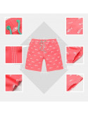 Шорты по колено пляжные Gailang Pink Fish лот 3352