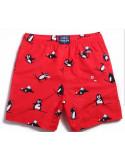 Прикольные красные шорты Gailang Pinguin лот 3354