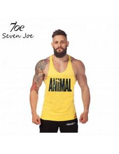 Майка мужская Animal Yellow 4010