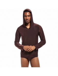 Мужская пижама под шёлк Coffe  867