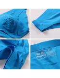 Бельё мужское бесшовные New Silk Bikini Blue лот 2136