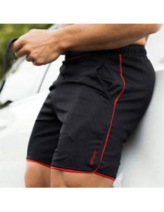Шорты спортивные чёрные ECHT Black лот 3368