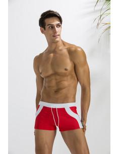 Пляжные боксерки плавки Deenyt Red лот 2338
