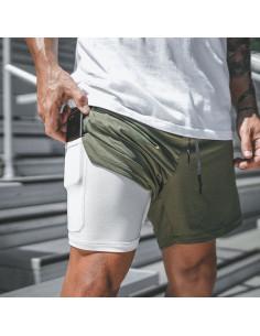 Шорты для спорта мужские Khaki лот 3393