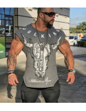 Мужская футболка с коротким рукавом лот 4077