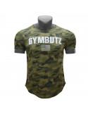 Камуфляжная футболка мужская GymButz лот 4079