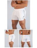 Белые шорты мужские ECHT White лот 3398