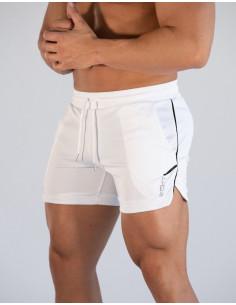 Белые шорты мужские ECHT White  3398