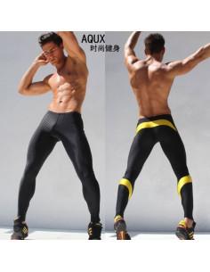 Леггинсы для спорта AQUX SPORT Yellow 1019