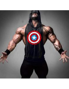 Безрукавка Капитан Америка лот 4097