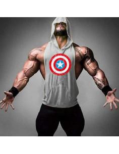 Безрукавка мужская Капитан Америка лот 4098