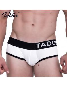 Белое мужское бельё Taddlee TD033