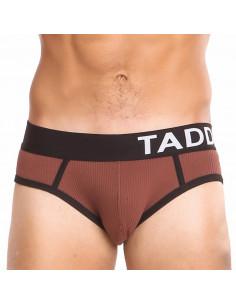 Мужские трусы коричневые Taddlee TD041