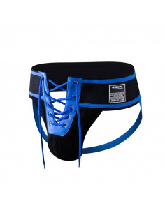 Синие джоки утяжка Wool Sock JM136