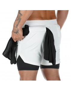 Шорты для тренажерного зала Sport Shorts White 3404