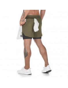 Шорты для тренировок мужские Sport Shorts Khaki 3406