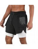 Шорты стильные для спорта Sport Shorts Black  3411