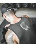 Майка мужская стильная для спорта Sport Black 4101