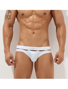 Белые сексуальные плавки мужские Erotic White 2343